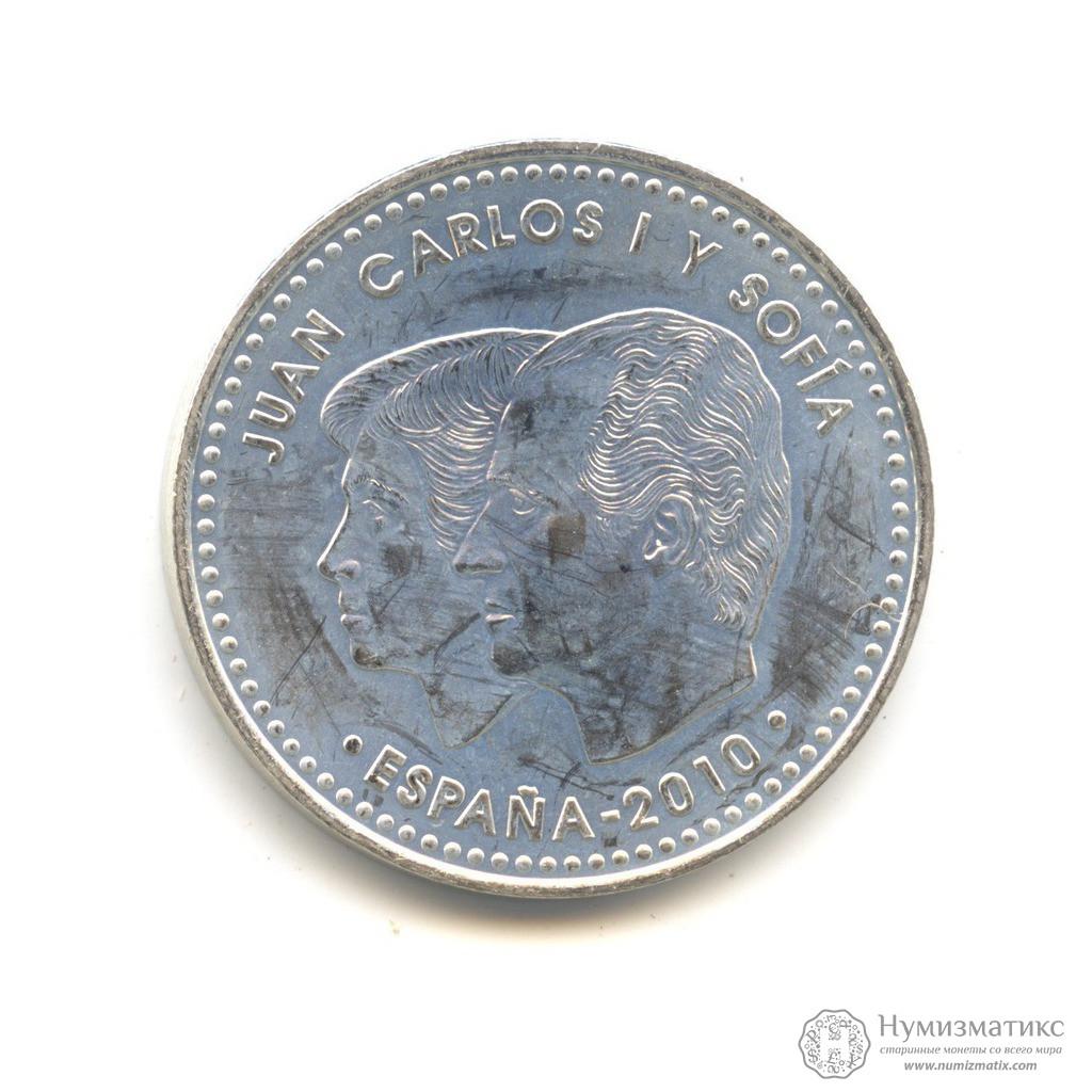 Купить в смоленске, монету 2 евро парк гуель гауди (2014 г) испания