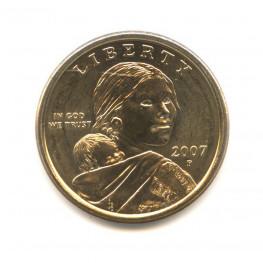 Сколько стоит 1 доллар 2007 года монета перевертыш адмс сайт где можно купить и продать