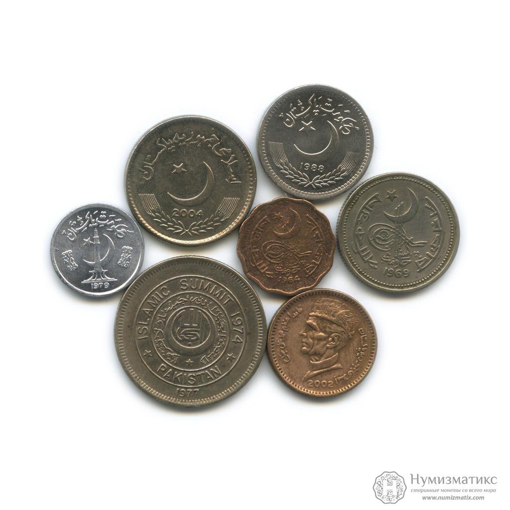 каталог старинных монет пакистана фото десяток лет